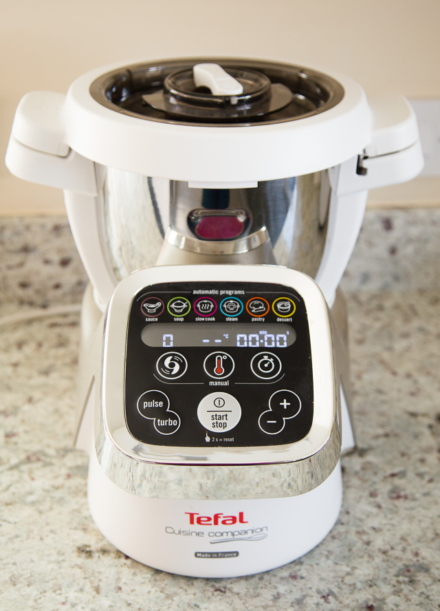 The Tefal Cuisine Companion cooking food processor