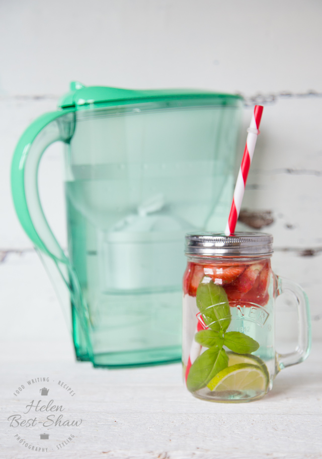 A delicious natural refreshing detox water, perfect for summer, or post workout hydration