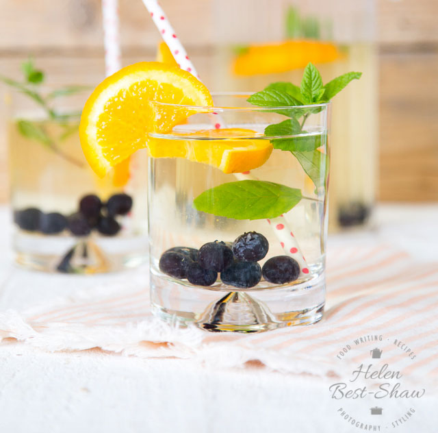 Blueberry & Orange Cold Brew Iced Green Tea | Fuss Free ...