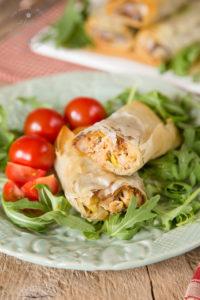30 Minute Quorn crispy filo sausage rolls - 1