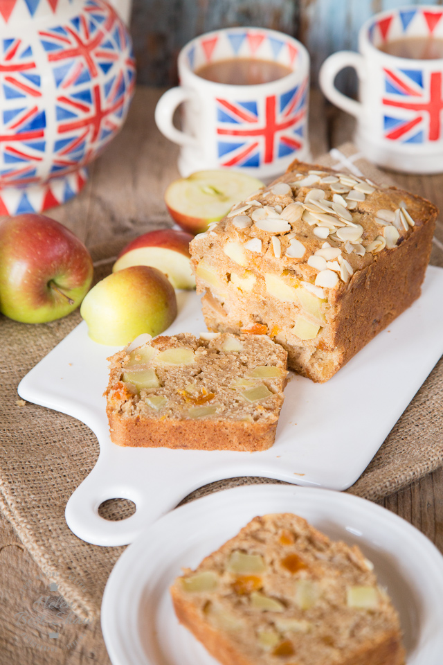 Traditional Dorset Apple Cake - moist and delicious