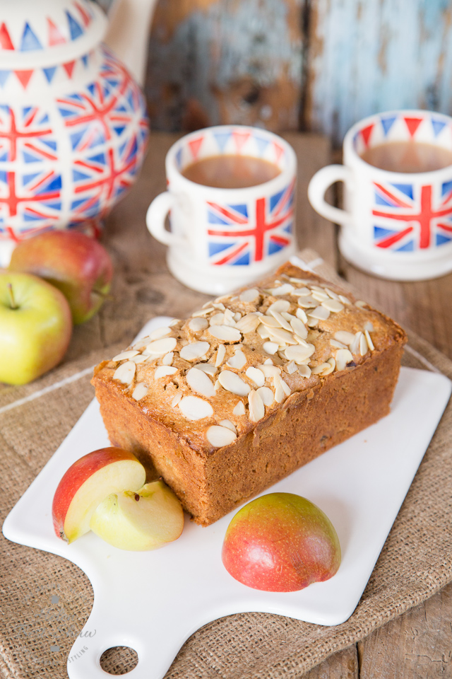 Traditional Dorset Apple Cake - an easy bake that is moist and delicious. British baking at its best
