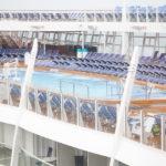 Swimming Pool on deck on Harmony of the Seas