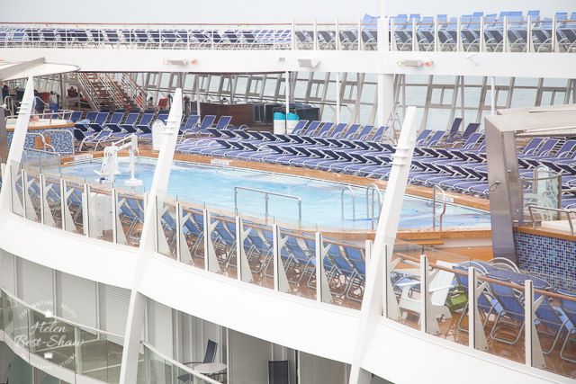 Swimming Pool on deck on Royal Caribbean's Harmony of The Seas