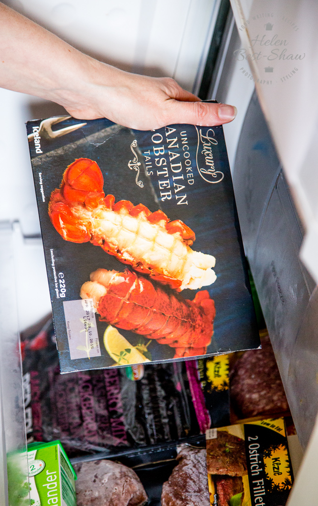 Frozen Canadian lobster are perfect for lobster dip and much more reasonable than you might think.
