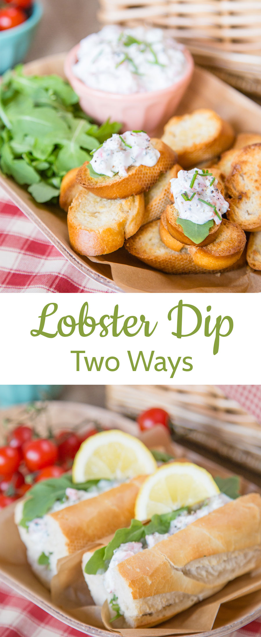 Enjoy this tasty, quick and easy lobster dip on crunchy crostini or in a baguette - perfect to take to picnics or BBQs