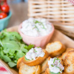Enjoy this quick and easy lobster dip on crunchy crostini