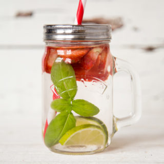 Recipe: The Post Workout Strawberry & Basil Infused Water Quencher