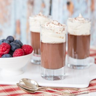 Three Ingredient Horlicks (Malted Milk Powder) Chocolate Pots