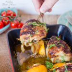Honey Mustard Chicken Thighs Traybake