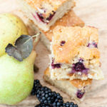 Recipe: Blackberry & Pear Traybake