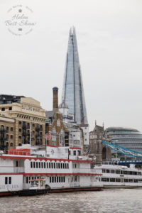 Cruise down The Thames - Embankment to Tower Bridge - The Shard