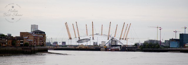 The O2 from the Thames
