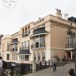 The Trafalgar Tavern in London's Greenwich