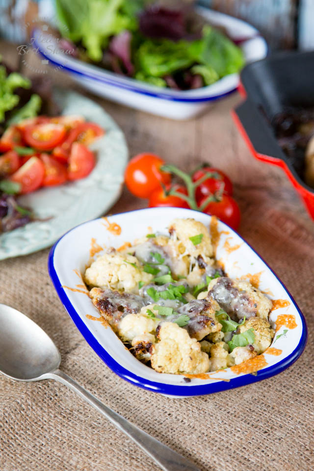 Roasting transforms cauliflower and intensifies the flavour. Try it with a sprinkling of cheese too.