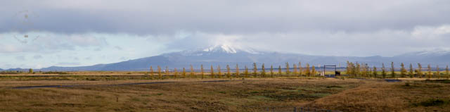 View from Hotel Ranga, Iceland