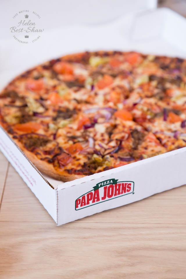 Papa John's Arabian Pulled Lamb Pizza