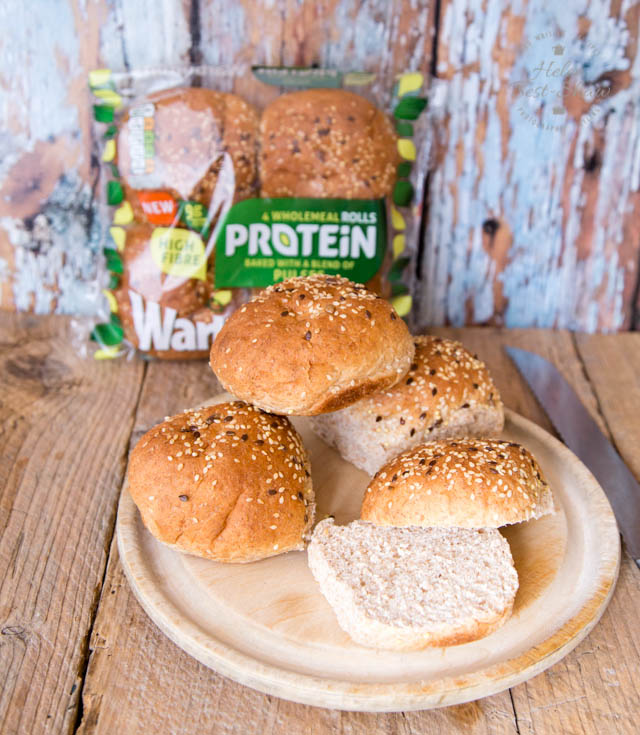 These protein enriched rolls are a great idea for those on a high protein diet.