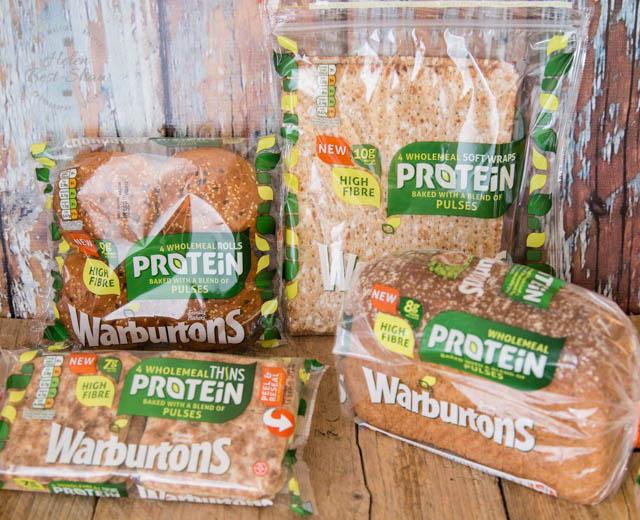 Warburtons protein range of bread