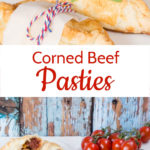 These corned beef pasties make an easy, satisfying and comforting family meal. Perfect for after a busy day at work or school.