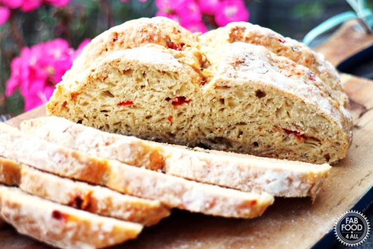 Cheesy jalapeno soda bread