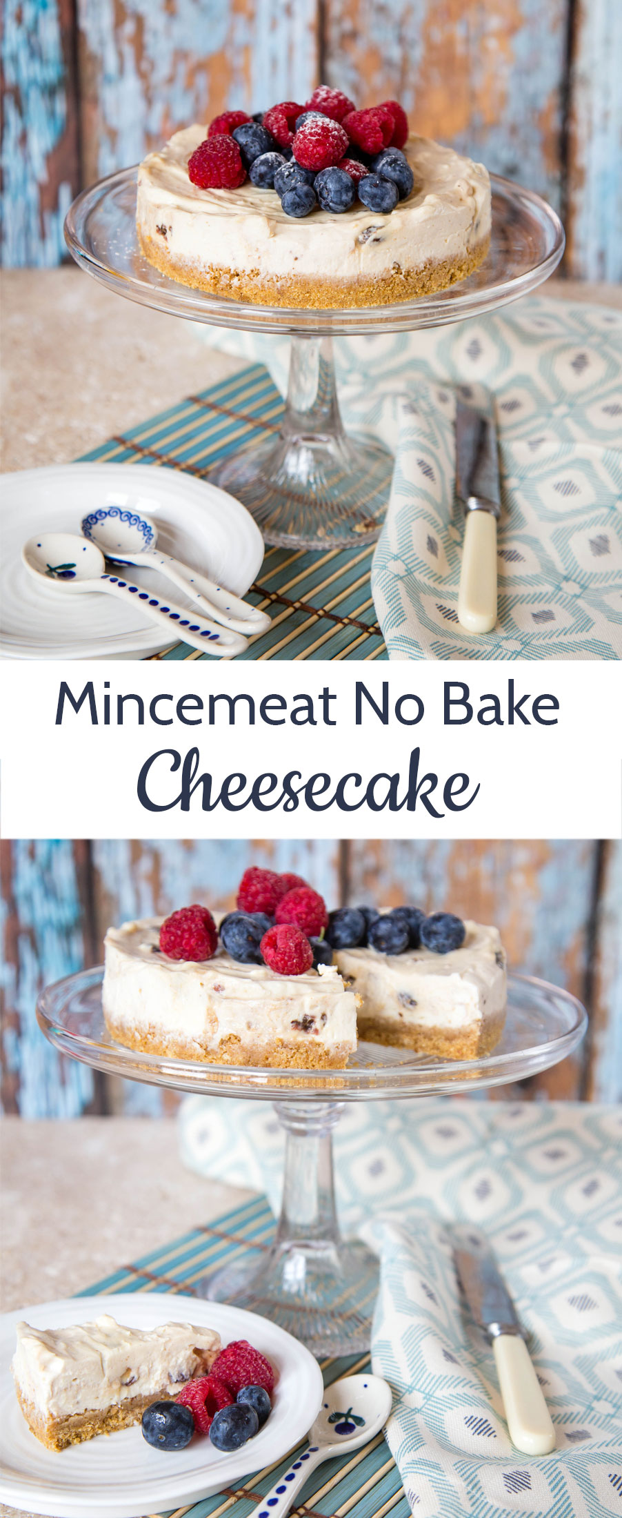 No Bake Mincemeat Cheesecake With Yogurt Christmas