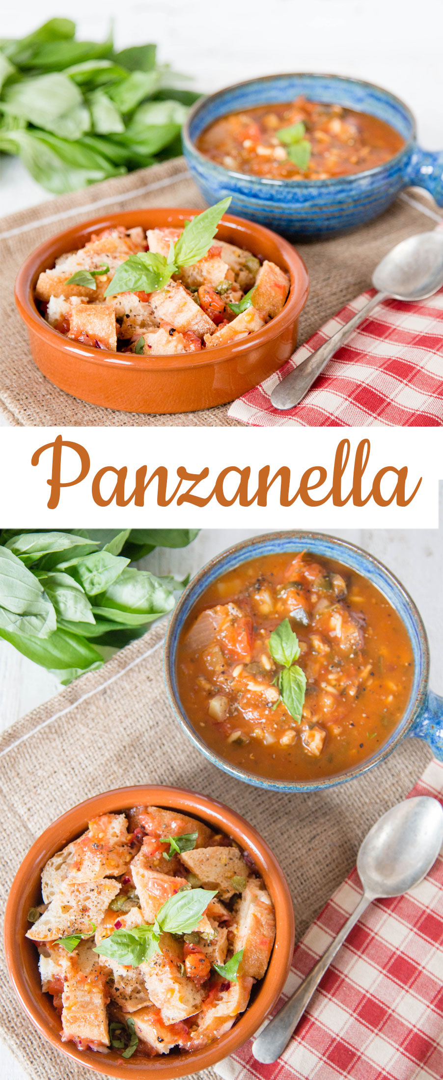 Panzanella - a simple frugal Tuscan dish that is astonishingly delicious.