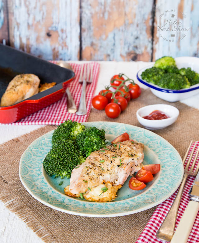 These ham and cheese stuffed chicken breasts are delicious, quick to make and sure to please.