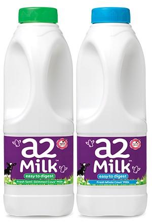 a2 milk - new packaging