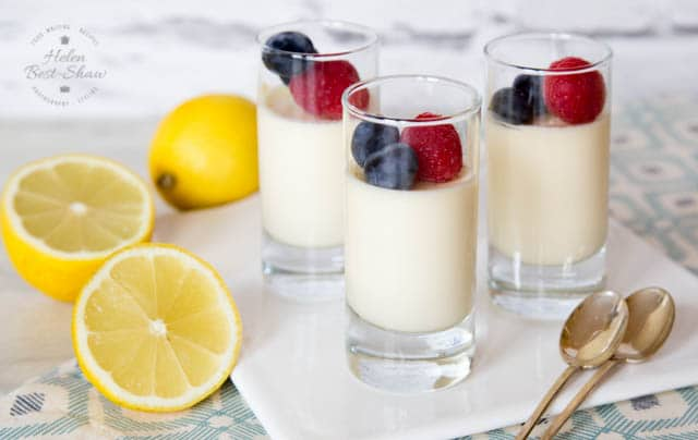 Lemon posset recipe - rich & delicious, quick & easy, freeze well and only use 3 ingredients!