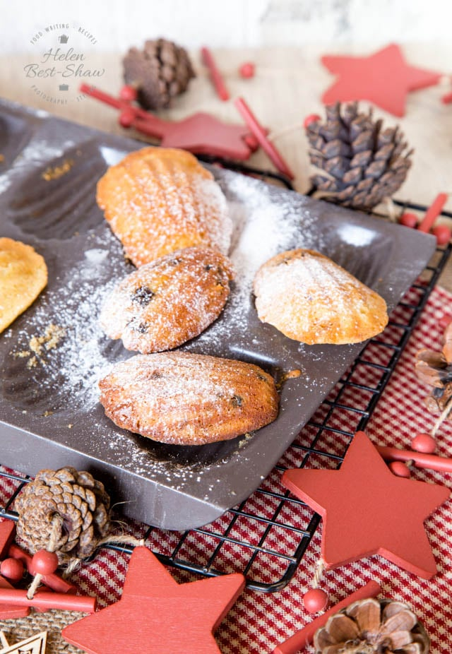 These mincemeat Madeleines are a delicious, light alternative to mince pies; prepare the batter ahead, and you can produce fresh madeleines in minutes