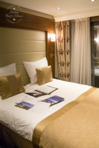 Cabin on Riviera Cruises MS Jane Austen