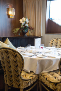 Main dining room on Riviera Cruises MS Jane Austen
