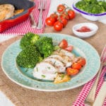 These ham and cheese stuffed chicken breasts are delicious, quick and easy to make and a real treat when you want a tasty meal that's a bit special but with minimum fuss.