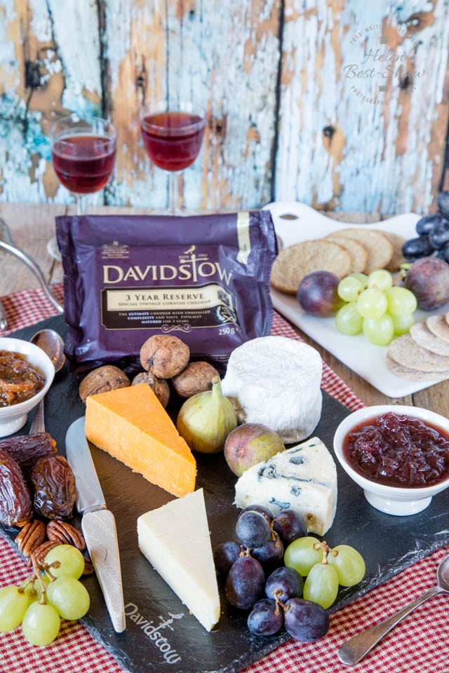 For the perfect cheeseboard, add fresh and dried fruit, nuts, chutneys as well as biscuits to your cheese selection.