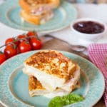 Easy Ham and Cheese Brioche Toastie (Croque Monsieur)