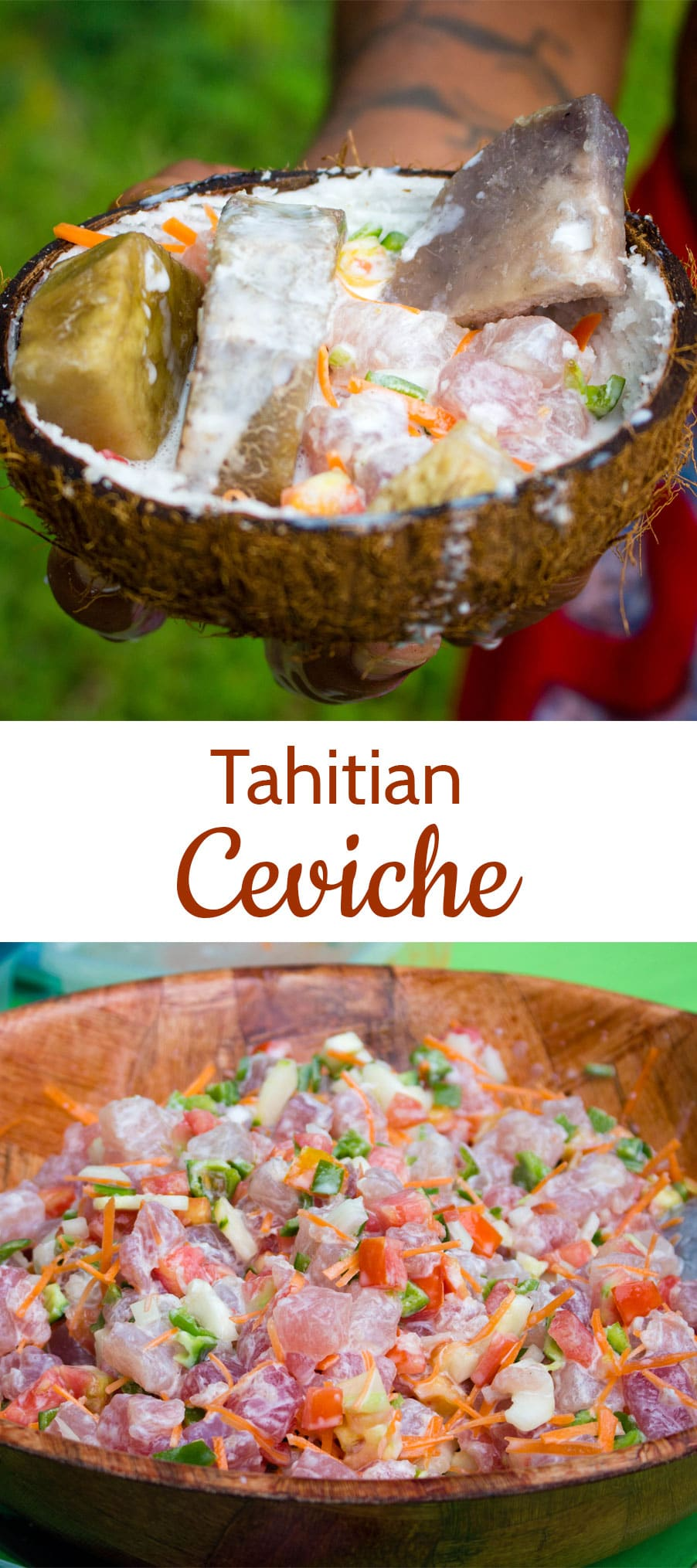 If you love sushi this simple-to-make Tahitian poisson cru, or Polynesian ceviche, will become a firm favourite. Quick, easy and adaptable, as well as being packed with vegetables.
