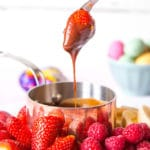 Creme Egg Easter Fondue – An Easy Creme Egg Recipe