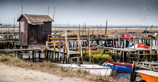 The ramshackle palafitte port of Carrasqueira is built on stilts and is a must visit on any trip to Portugal's Alentejo.