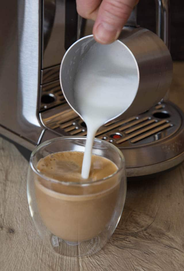 The Nespresso Creatista Plus machine, makes it easy to be your own barista and make a range of perfect coffee at home.
