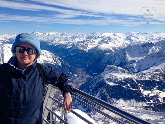 Me at the top of the Mont Blanc Skyway