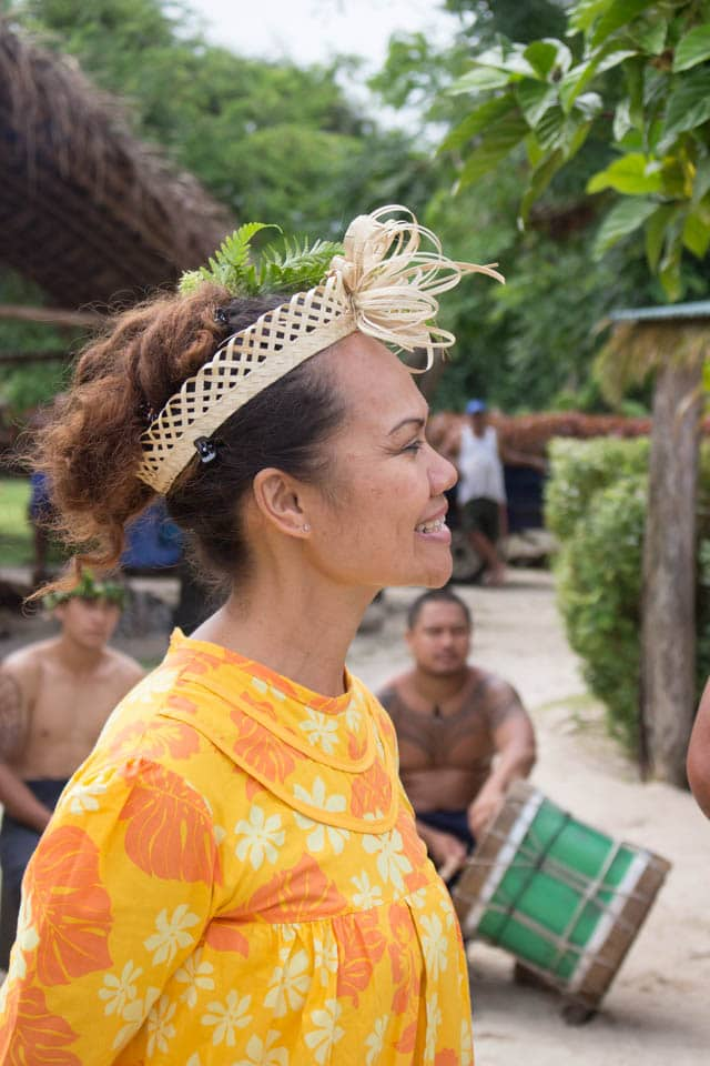 Tahitian lady