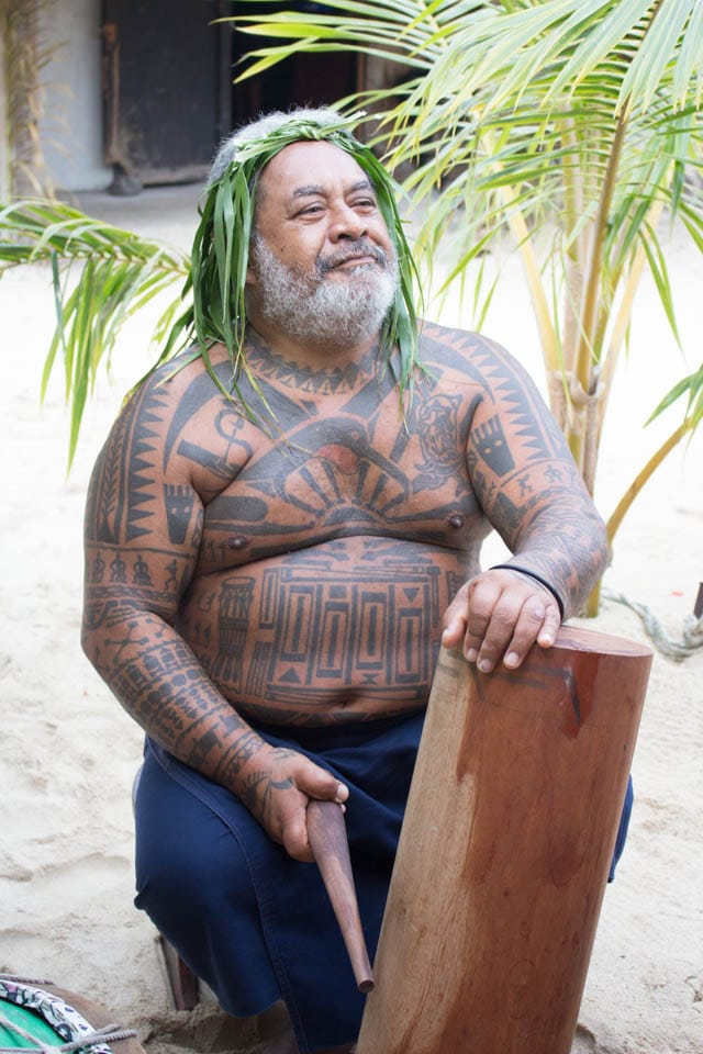 Tahitian tattos and drums