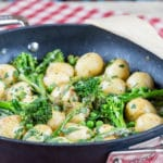 Creamy New Potatoes with Spring Vegetables