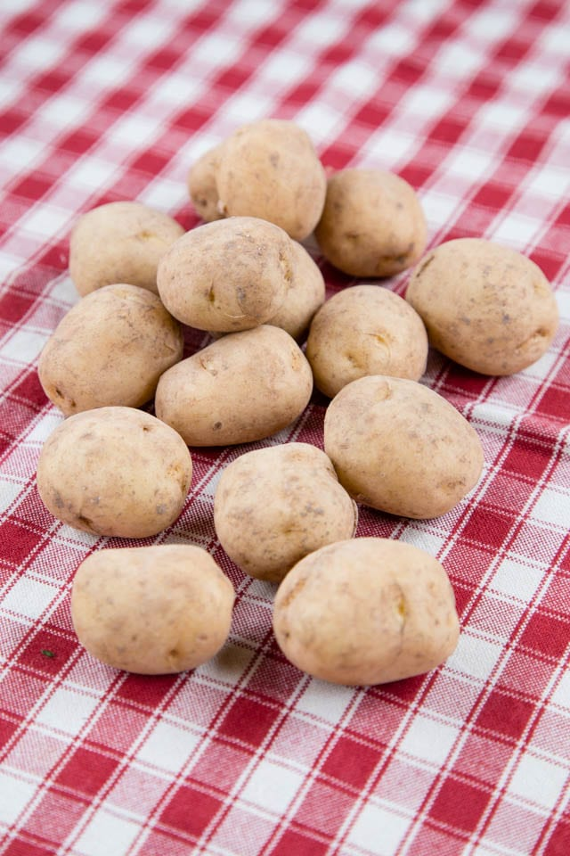 Deliciously nutty flavored Majorcan new potatoes