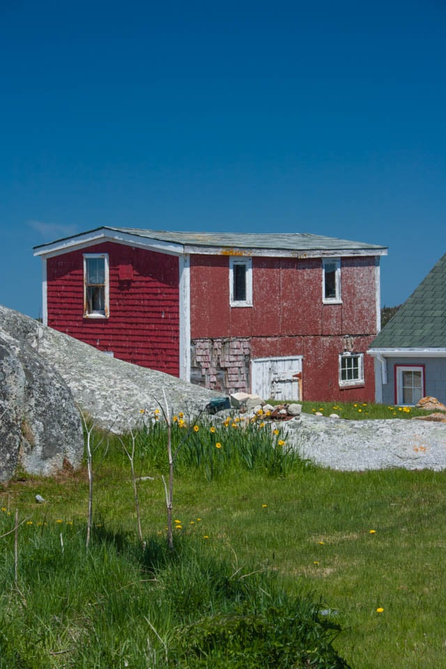 Peggy's Cove in the East of Nova Scotia is one of the most photographed places in Atlantic Canada