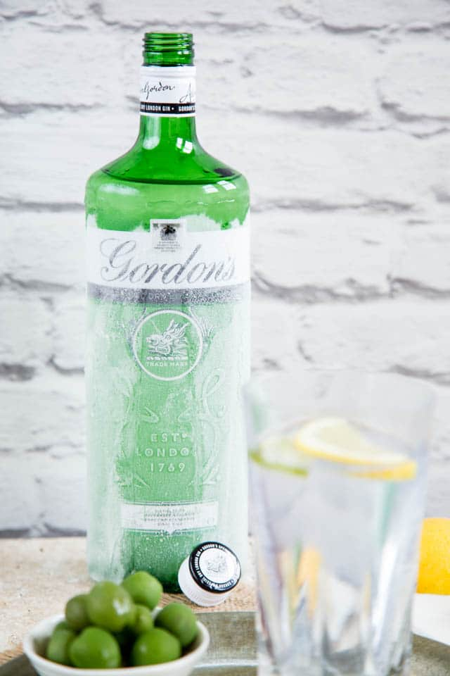 Ice cold gin, for the perfect gin and tonic
