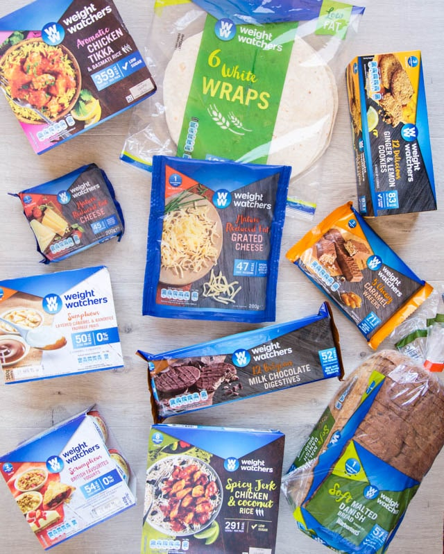Weight Watchers Licensed Food