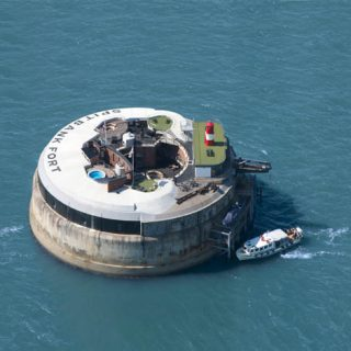 Spitbank Fort – a luxurious private retreat in the middle of The Solent