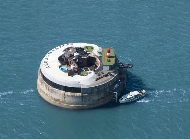 Spitbank Fort in the Solent